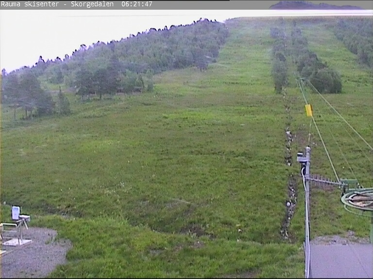 Webcam Rauma skisenter, Rauma, Møre og Romsdal, Norwegen